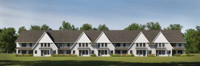Owens Crossing Townhomes - Lot 52 - 1 Car Exterior Unit